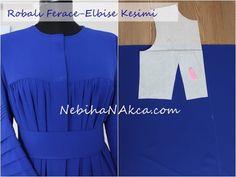 Robalı Ferace Yapımı Sewing Kids Clothes, Sewing For Kids, Diy Clothes, Clothes For Women, Arab Fashion, Modelista, Muslim Dress, Mode Hijab, Dress Cuts