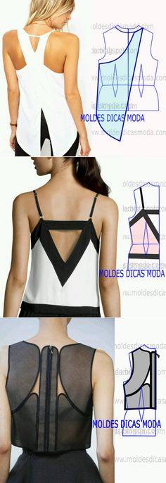 Easy #Patterns by just adding style lines to your #basic #bodice.