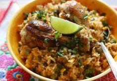 Pui cu orez mexican și chili, o rețetă gata în doar 20 de minute! Un deliciu pentru pasionații de mâncăruri picante Grains, Food, Cooking Recipes, Essen, Meals, Seeds, Yemek, Eten, Korn