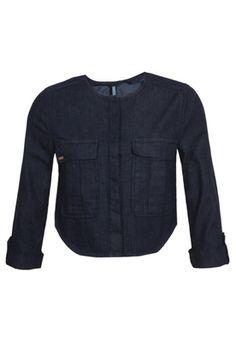 Jaqueta Jeans Life Azul Dzarm