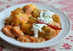 Romanian Food, Romanian Recipes, Saveur, Shrimp, Curry, Food And Drink, Meat, Cooking, Ethnic Recipes