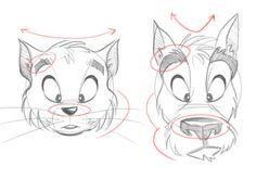 aprender a dibujar dibujos animados paso 05 animales