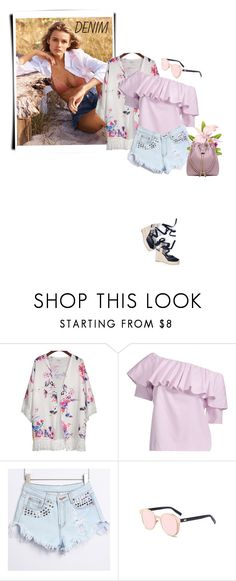 """""""Shorts"""" by stellina-from-the-italian-glam ❤ liked on Polyvore featuring H&M"""