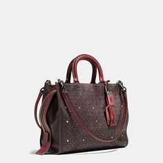 Rivets Rogue Bag in Pebble Leather - Alternate View 3