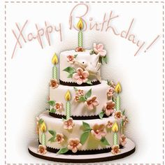 Happy Birthday happy birthday happy birthday wishes happy birthday quotes happy birthday images happy birthday pictures happy birthday gifs Birthday Cake Gif, Happy Birthday Rose, Birthday Cake With Photo, Happy Birthday Messages, Happy Birthday Cakes, Happy Birthday Greetings, Glitter Birthday, Happy Birthday Pictures, Birthday Images