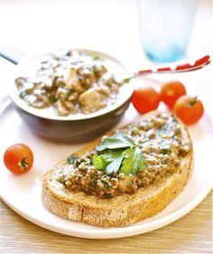 Crostini de champiñones, receta italiana con Thermomix « Thermomix en el mundo