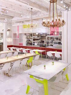 Paulette Cole and Amy Ilias Talk Feminine Energy at abcV - Whitewall New York Restaurants, Restaurant New York, Restaurant Design, Healthy Cat Treats, Heart Healthy Recipes, Chicken And Shrimp Recipes, Healthy Chicken Recipes, Merci Boutique, New York City