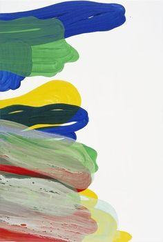 KATHARINA GROSSE Untitled, 2013 acrylic on canvas 79 1/10 × 53 1/10 in 201 × 135 cm Galerie nächst St. Stephan Rosemarie Schwarzwälder