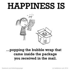 ..Popping the bubble wrap