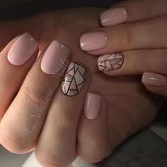 "Outstanding ""gel nail designs for fall autumn"" information is readily available on our internet site. Dream Nails, Love Nails, Pink Nails, Pretty Nails, My Nails, Shellac Nails, Nail Polish, Gel Nail, Gel Nagel Design"