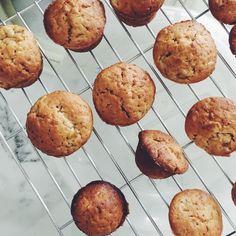 Banana Muffins  #food#homemade#baking#muffins#banana#iphonegraphy#sweet#vscocam#foodblogger