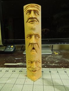 Carved by Scott Longpre