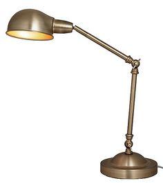 Bordslampa Charles. 350 kr
