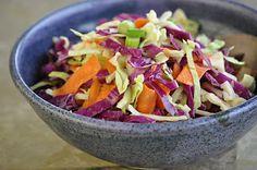 The Whole Life Nutrition Kitchen: Orange-Wasabi Cabbage Salad