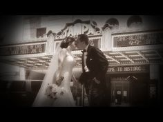 Wedding at Sacred Heart Catholic Church, reception at The Straz Center, with shots at The Tampa Theatre and Carol Morsani Hall at the Straz Center.  http://celebrationsoftampabay.com/
