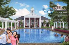 Boston Village Serpong Club House