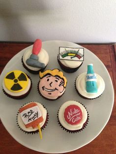 Fallout Video Game Cupcake Toppers!