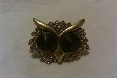 Adorable Vintage Owl Ring by VonBonneVintage on Etsy, $12.00