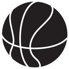 Basketball Clip Art Black And White | Clipart Panda - Free Clipart ...