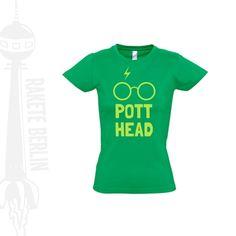 Damen T-Shirt  'Potter Head'  von RaketeBerlin auf DaWanda.com