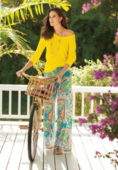 Make a statement with tropical prints from Lauren Summer 2013