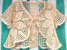 Boleros a crochet - San Ramón - Ropa - Accesorios - modelos crochet
