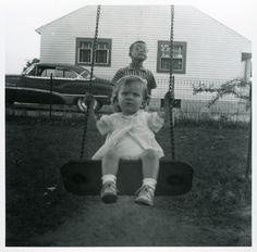 The Boat Lullabies: Photo Vintage Photographs, Vintage Images, Vintage Kids, Great Photos, Old Photos, Park Swings, Creepy Vintage, Past Life, Beautiful Children