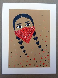 Zapatista print- for Kinsey