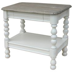 Traditionally Designed Rectangular Side Table