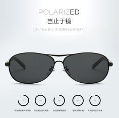 0f386fcefdde cool 2015 New Fashion Men s UV400 Polarized coating Sunglasses men Driving  Aviator Mirrors Eyewear Sun Glasses