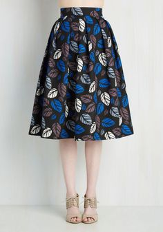 Follow My Leaf Skirt, #ModCloth