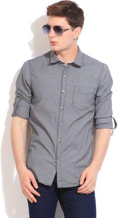 Integriti Men's Checkered Casual #Shirt  #Fashion #BeUrself #checkprint #style