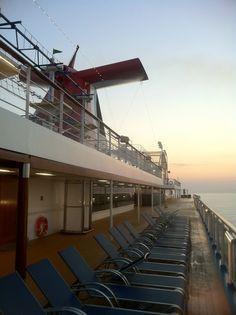Sunrise in the Mediterranean via Carnival Breeze, Golden Gate Bridge, Sunrise, Cruise, Fair Grounds, Fun, Travel, Life, Fin Fun