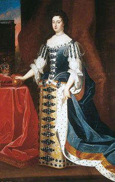 """""""Queen Mary II"""", studio of Godfrey Kneller, ca. 1690; LMG LEEAG.PA.1992.0037.0002"""