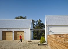 Healdsburg Residence - contemporary - garage and shed - san francisco - Nick Noyes Architecture