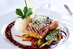 A Glazed and Crispy Teriyaki Salmon Recipe Food Places, Best Places To Eat, Teriyaki Salmon, Most Delicious Recipe, Restaurant Recipes, Lunches And Dinners, Salmon Recipes, Salmon Burgers, Yummy Food