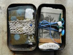 Collected from places, to remember //beautiful bundles by Elizabeth Bunsen