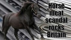 Hacks Making A Huge Fuss Out Of That Horsemeat Scandal   Stirring Trouble Internationally