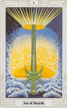 Tarotweb - Crowley Tarot (Thoth Tarot)