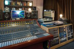 Vintage Neve and Outboard at Hoxa Studio in West London