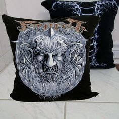 Finntroll Pillow DIY Folk Metal Decor (Cover Only; Insert Available) by DarkStormDesign on Etsy