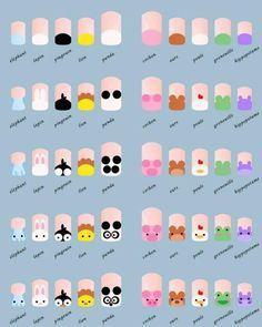 nail art tutorial / nail art designs + nail art + nail art designs for spring + nail art videos + nail art designs easy + nail art designs summer + nail art diy + nail art tutorial Manicure Nail Designs, Nail Manicure, Diy Nails, Cute Nails, Pretty Nails, Nails Design, Nail Polish, Kids Manicure, Trendy Nail Art
