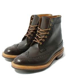 Journal Standard TRISECT(トライセクト)のTRICKERS / トリッカーズ LONG WING TIP BOOTS ロングウイングチップブーツ(ブーツ)|ブラウン