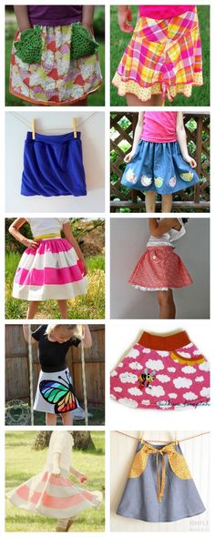 crafterhours: VOTE for CHILDREN'S SKIRTS!