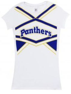 Friday Night Lights Dillon Panthers Cheerleading White Juniors T-Shirt