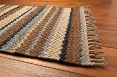 Rag Kitchen Rug Boulde Ripple 6'x9' Rectangle Clearance price is now almost $200 off reg. price. July 17, 2015