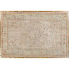 """Check out this item at One Kings Lane! Antique Oushak, 8'6"""" x 12'5"""""""