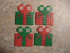 Christmas ornaments hama perler beads by Edvind Medvind