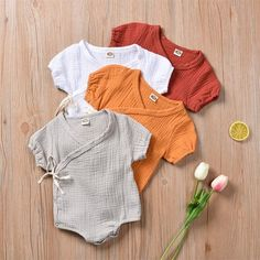 MARCEL - natural cotton mixed, unisex baby girl and boy. Baby Outfits, Short Outfits, Casual Outfits, Newborn Outfits, Marcel, Tutu, Jumpsuit With Sleeves, Baby Boy Newborn, Carters Baby