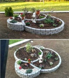 18 Magnificent Ideas For Landscaping Your Backyard Home Grown Vegetables, Growing Vegetables, Front Yard Flowers, Low Maintenance Garden Design, Large Backyard Landscaping, Landscape Design, Outdoor, Porch, Gardening